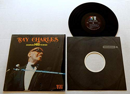 Ray Charles DOING HIS THING - ABC-Tangerine Records1969 - USED Vinyl LP Record - 1969 Pressing ABCS-695 IN SHRINK WRAP - VERY RARE - Baby Please - I Told You So - I'm Ready - We Can Make It