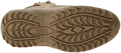 Reebok Military Rapid Response 6in Side Zip Military Boots Tan