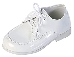 DressForLess Classic Lace-Up Oxford Boys Shoes