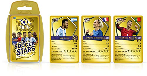 Top Trumps World Soccer Stars Card Game
