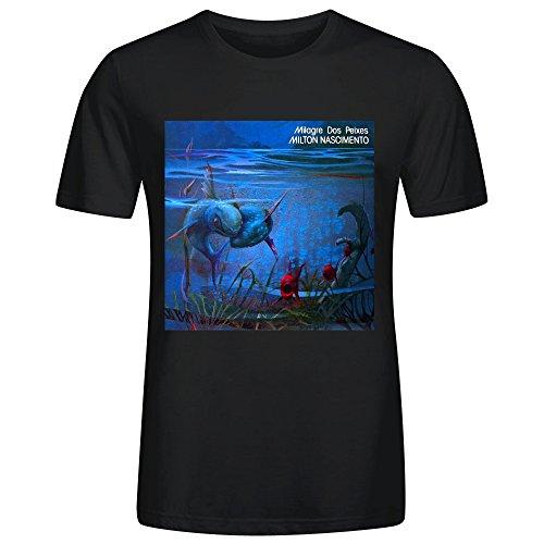 milton-nascimento-milagre-dos-peixes-mans-t-shirt-black