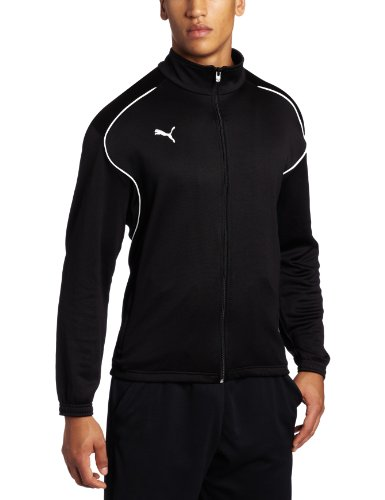 PUMA Men's V 5.08 Training Jacket USA Black/White Outerwear SM (Puma Soccer Jacket)