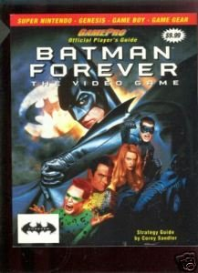 Batman Forever: The Video Game (Official Player's Guide w/ Strategy (Batman Forever Man Bat)