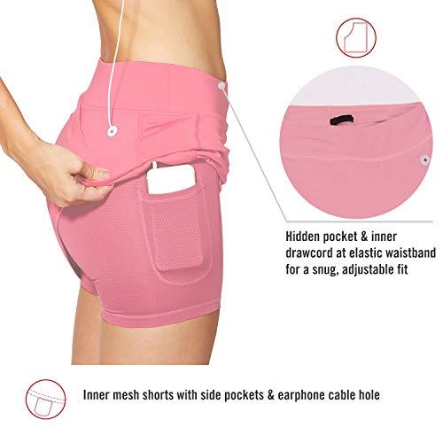 BALEAF-Womens-Athletic-Skorts-Lightweight-Active-Skirts-with-Shorts-Pockets-Running-Tennis-Golf-Workout-Sports