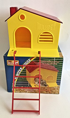 Hamster/Sugar Glider Hideout House with Ladder