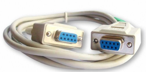 Your Cable Store 6 Foot DB9 9 Pin Serial Port Cable Female / Female (Db9 Female Cable)