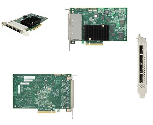 LSI Logic Controller Card H5-25379-00 SAS 9201-16e 16Port 6Gb/s SATA+SAS PCI Express Single Electronic Consumer Electronics