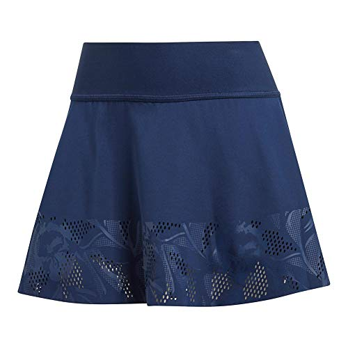 (adidas Women's by Stella McCartney Floral Skirt Night Indigo Large)