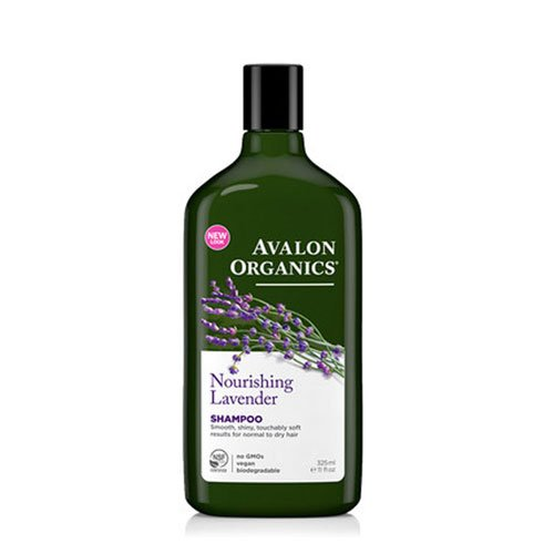 Avalon Organics Lavender Nourishing Shampoo, 11-Ounce Bottle (Pack of 3) ()