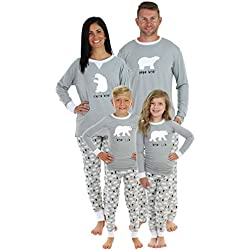 Sleepyheads Polar Bear His and Her Christmas Pajama Sets