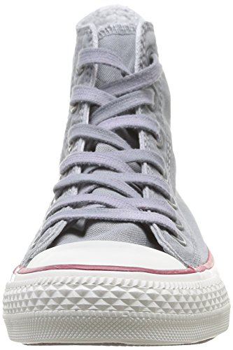 Converse Chuck Taylor All Star Wash Hi - Zapatillas de Deporte de canvas Unisex azul - Bleu (Bleu Clair)