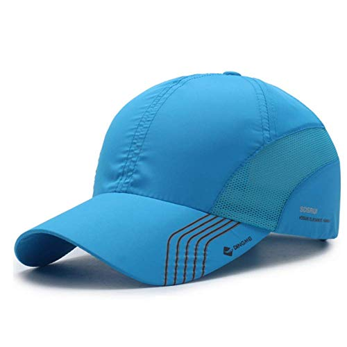 Clape UV Protection Baseball Cap Outdoor Sports Running Performance Hat Ultra Thin Lightweight Waterproof Quick Dry Portable Mesh Hat Pink - Outdoor Cap Cap