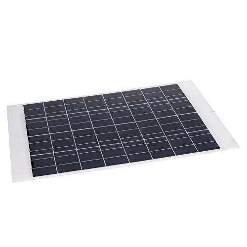 Panel solar, 18 V, 30 W, panel solar policristalino, mini panel solar portátil, cargador solar portátil con núcleo de…
