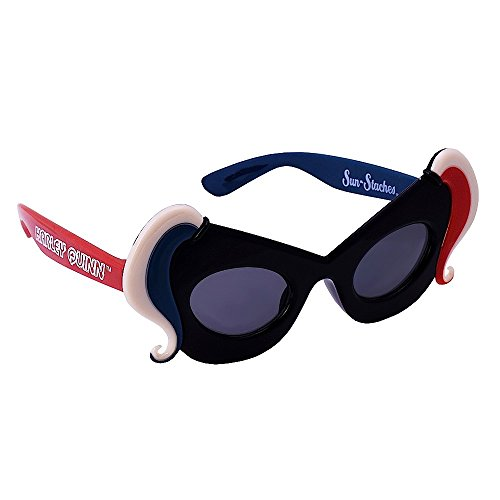 Sun-Staches Costume Sunglasses Lil' Characters Harley Quinn Party Favors UV400
