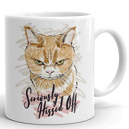 Funny Cat Mug with quotes