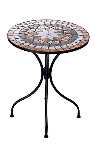 Amazon De Hochwertiges Aufwendig Gearbeitetes Mosaik Tisch Set