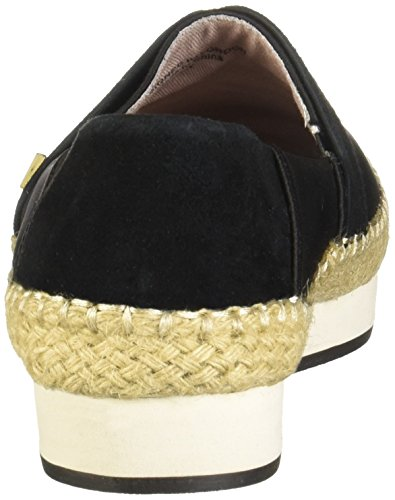 Maya Twists Butterfly Slip On Espadrille Shoes Black Womens 5PAAxTqwZ
