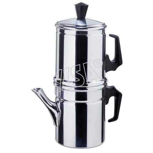 Ilsa Neapolitan 6-Cup Aluminum Coffee ()