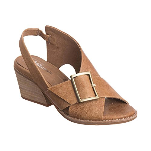 Antelope Women's 505 Taupe Leather Buckle & Sling 40