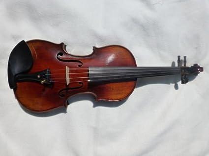 Nuevo hecho a mano violín Stradivarius de estilo antiguo de copia de arco y el caso