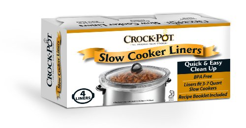 Crock Pot Slow Cooker Liners, 24 Liners (6 packs of 4 count) (Non Stick Crock Pot compare prices)