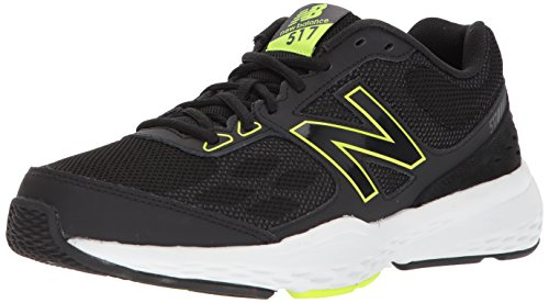 New Balance Men's MX517v1 Training Shoe, Black, 13 D US