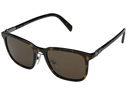 Prada  Men's 0PR 02TS Havana/Brown Gradient - Prada Mens Sunglasses Shield