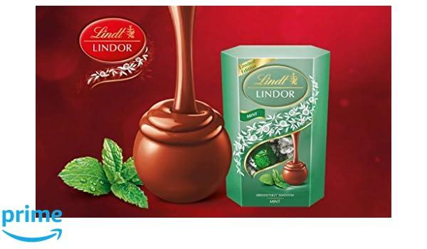 Lindt Lindor Edición Limitada Trufas de menta 200g: Amazon.es: Alimentación y bebidas