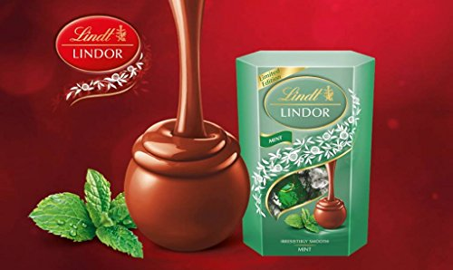 Lindt Lindor Milk Mint Chcolate Truffles - Truffles Dark Mint Chocolate