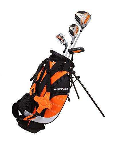 Precise XD-J Junior Complete Golf Club Set para niños Niños - 3 grupos de edad Niños y niñas - ¡Mano derecha e mano izquierda!