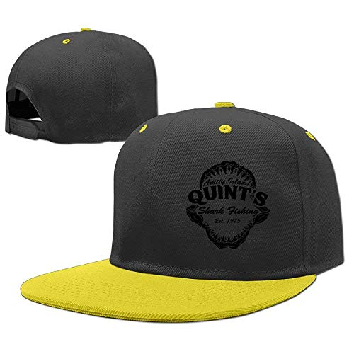 RGFJJE Gorras béisbol Baseball Cap Hip Hop Hats Quint's Shark Fishing 8 Boys-Girl