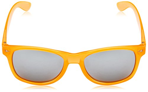 Gafas sol naranja única Talla naranja Orange talla BRIGADA Orange Clear Clear Lawless de 5vxwtAB