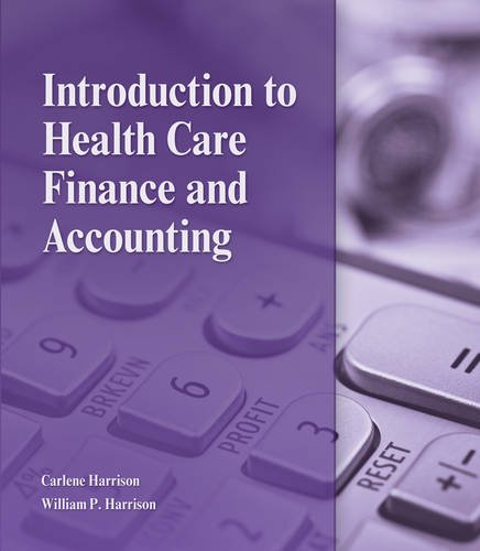 Intro.To Health Care Finance+Acct.