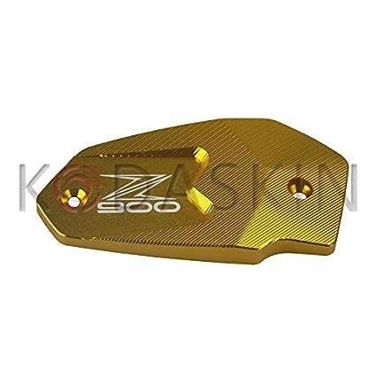 KODASKIN-EU Moto CNC Ré servoir De Liquide De Frein Cap Couvercle Pour Kawasaki Z900 2017 (rouge)