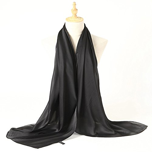 Bellonesc Silk Scarf 100% silk Long Lightweight Sunscreen Shawls for Women