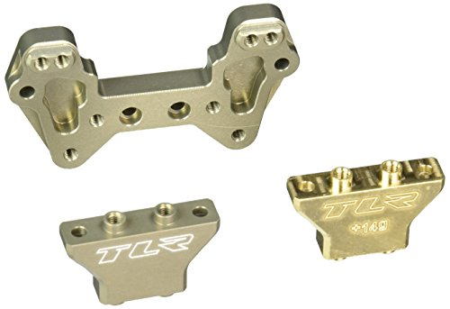 Team Losi Aluminium MM Rear Camber Tower Brass