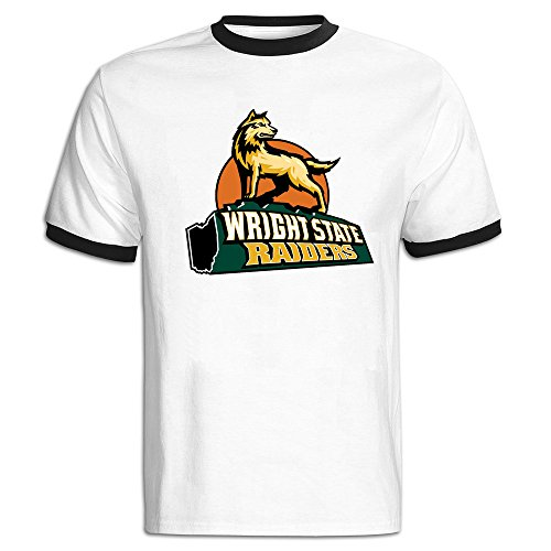 Wright State Raiders Color Blocking Short Tshirt Tee Shirt At Leisure Men's (Oakland Raider Car Seat Covers compare prices)