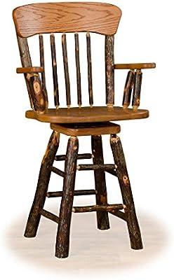 Enjoyable Amazon Com Kunkle Holdings Llc Rustic 24 Inch Panel Back Ncnpc Chair Design For Home Ncnpcorg