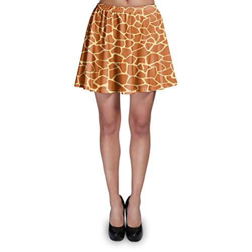 Queen of Cases Giraffe Print Skater Skirt - S ()