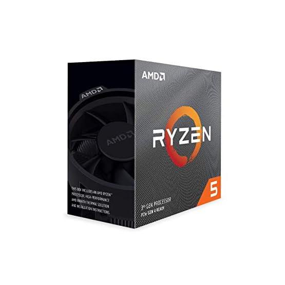 AMD Ryzen 5 3600 6-Core, 12-Thread Unlocked Desktop Processor with Wraith Stealth Cooler