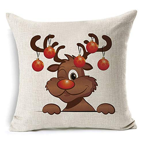 unyielding1 Decorative Christmas Series Throw Pillow Covers Pillowcase