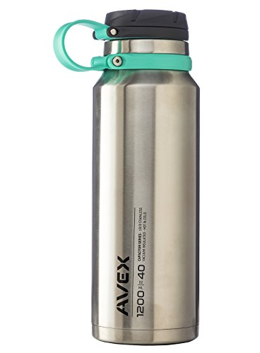 Avex 40 oz. Fuse Wide Mouth Stainless Steel Water Bottle - S