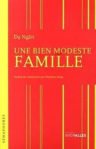 Une bien modeste famille par Da Ngân