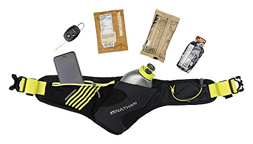 Nathan Peak Hydration Waist Pack with Storage Area & Run Flask 18oz – Running, Hiking, Camping, Cycling by Nathan (Image #4)