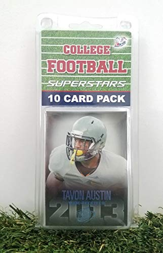 (West Virginia Moutaineers- (10) Card Pack College Football Different WVA Superstars Starter Kit! Comes in Souvenir Case! Great Mix of Modern & Vintage Players for the Super Moutaineers Fan! By 3bros)