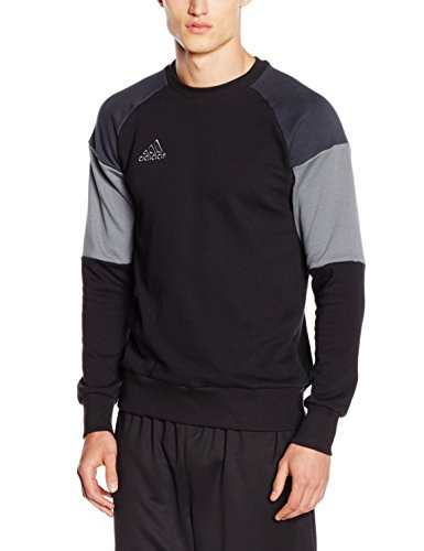adidas Herren Sweatshirt Condivo 16, Black/Dark-/Vista Grey S15, L, AN9887