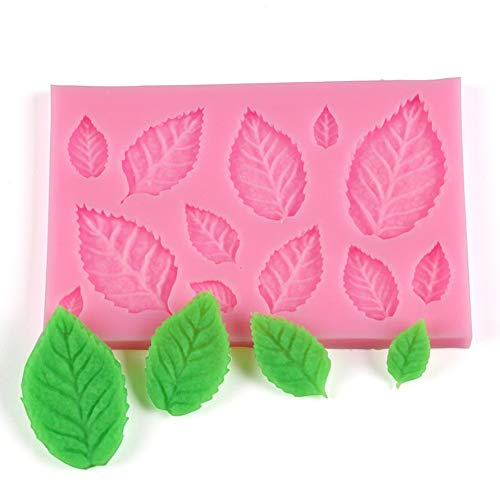 ningbao771 Cute Tree Leaf Shape Fondant Cake Silicone Mold DIY Kitchen Making Candy Biscuits Molds Chocolate Cake Mould Tools