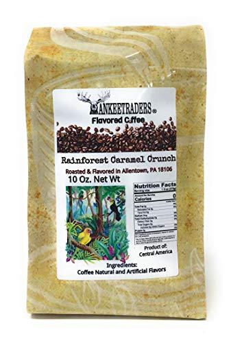 (Rainforest Caramel Crunch Coffee 2-10 Oz Bags)