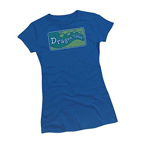 Distressed TV Show Logo -- Dragon Tales Juniors T-Shirt