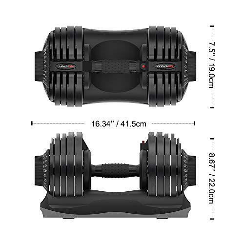 ATIVAFIT-Adjustable-Dumbbell-Fitness-Dial-Dumbbell-with-Handle-and-Weight-Plate-for-Home-Gym-Note-Single